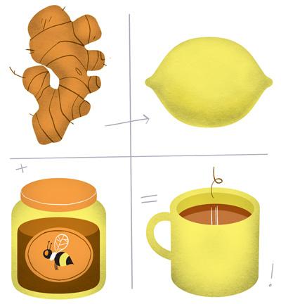 имбирь с медом и чесноком